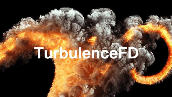 TurbulenceFD C4D v1.0.1425 三维火焰流体插件 Win